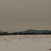 Sawyer Farm and Mt. Monadnock before a storm