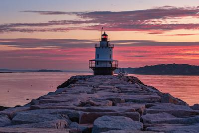 Spring Point Sunrise