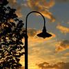 Lamp in Depot Park