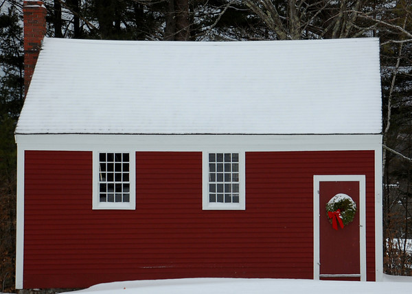 Old Red Shed in Jaffrey Center, NH