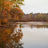 Kayaker on Long Pond