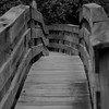 Wooden Foot Bridge in Stoddard, NH