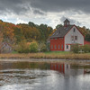 Old New England Barn
