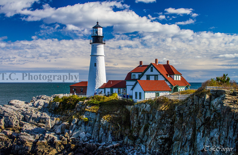 Portland Head Lighthouse in Portland, ME