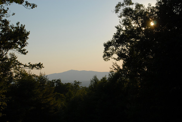 Mount Monadnock at Dusk from Peterborough, NH