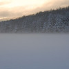 Winter Fog on Cunningham Pond, Peterborough, NH