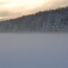 Winter Fog on Cunningham Pond, Peterborough, NH