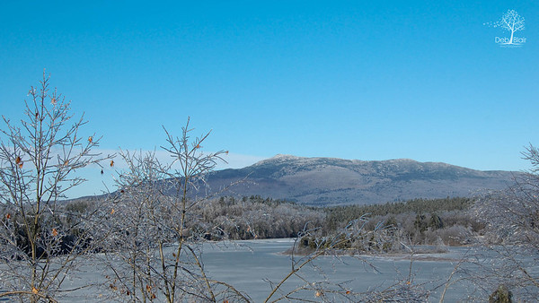 Mount Monadnock on an icy day 2008
