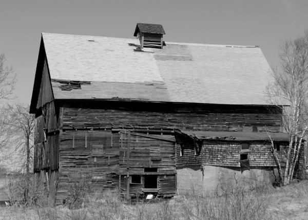 Old Barn in the White Mountains - 2