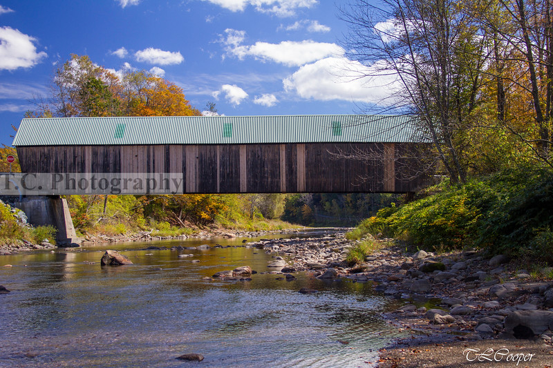 Woodstock Middle Bridge Side in Woodstock, VT
