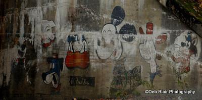 Underpass graffiti in Dalton, MA