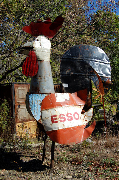 Roadside Folkart in Turner's Falls, MA