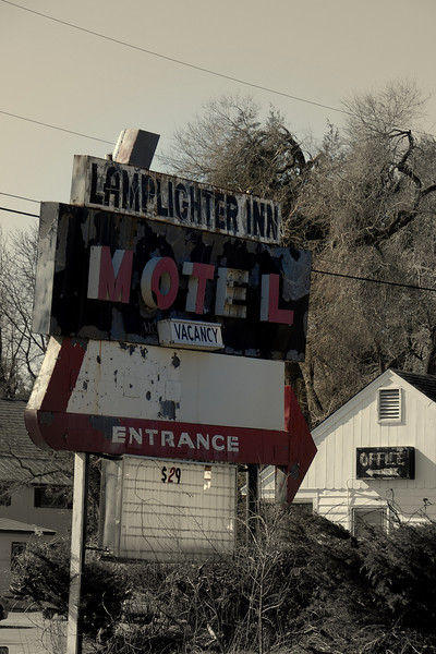 Vintage Hotel Sign - Vermont, NH