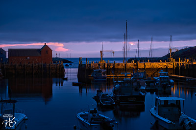 Dawn on Rockport Harbor