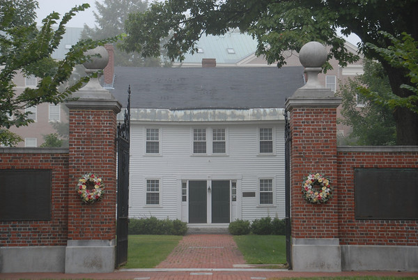 Historical Society gate entrance in Peterborough, NH