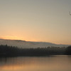 Sunrise over Cunningham Pond, Peterborough, NH