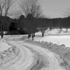 Winter Scene in York Maine