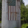 Patriotic Silo in Boscowan, NH