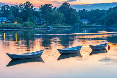 The 3 Dories of Kennebunkport