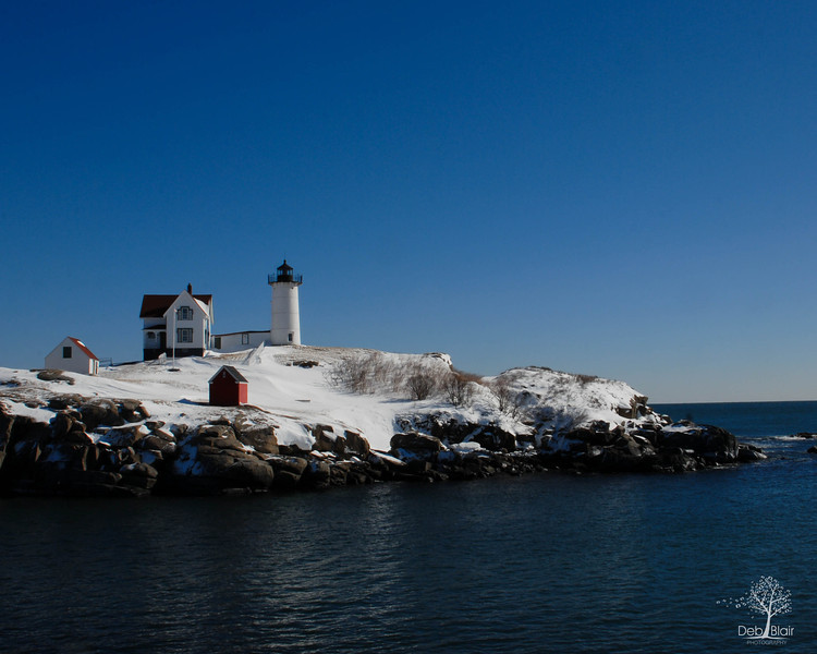 Nubble Light on a calm Winter day 2014