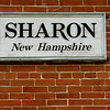 Sharon, NH Sign