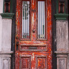 Vintage door in Portsmouth, NH