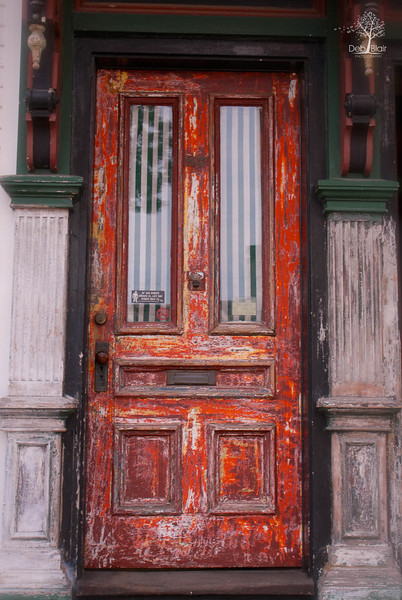 Vintage door in Portsmouth, NH