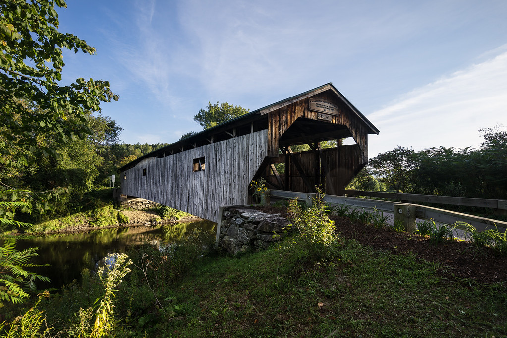 Poland Covered Bridge