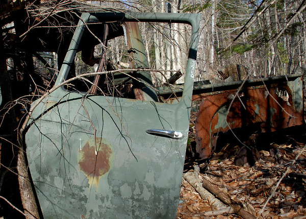old truck3 found in the woods near Washington, NH