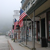 Foggy Main Street - Peterborough, NH