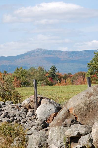 Mt. Monadnock - from Sawyers Farm in Jaffrey, NH