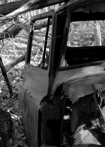 old truck4 found in the woods near Washington, NH