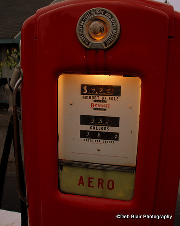 Vintage Gas Pump in Amherst NH
