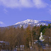 Mount Monadnock winter scenic from Jaffrey Center, NH - 1