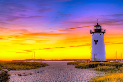 Edgartown Lighthouse Sunrise