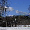 Mount Monadnock winter scenic from Jaffrey Center, NH - 2