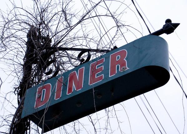 Peterborough Diner Neon Sign