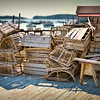 Stonington, Maine<br /> Old Style Lobster Traps