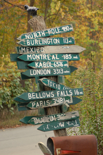 ....still which way do I go? - near Putney, Vermont