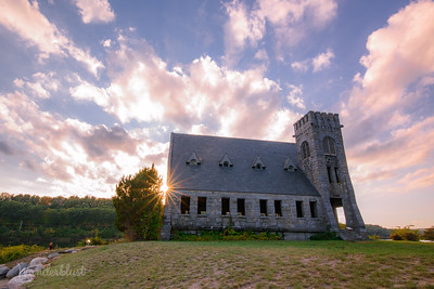 Sunburst at Old Stone Church