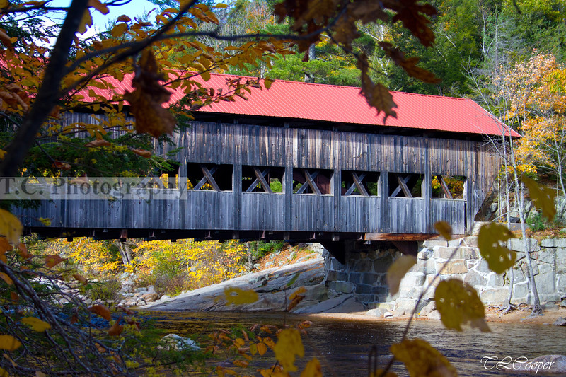 Saco River Covered Bridge II near Conway, NH