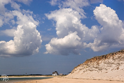 Three Clouds Over Cape Cod, MA