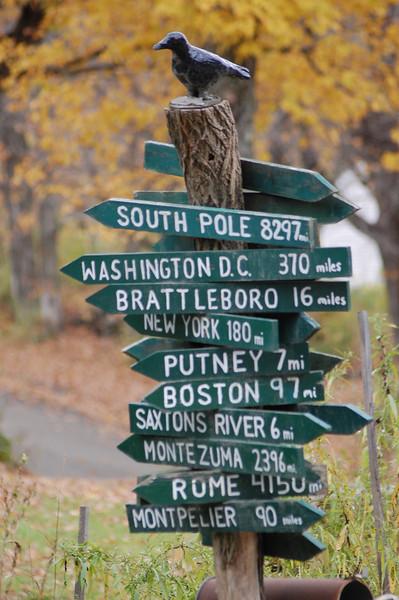 Which way do I go? - near Putney, Vermont