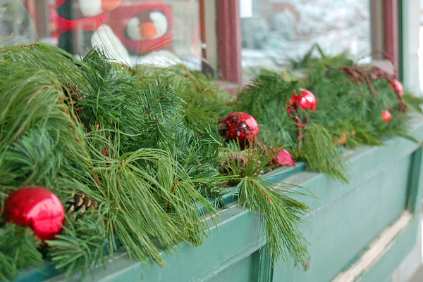 Holiday decorations - Peterborough, NH