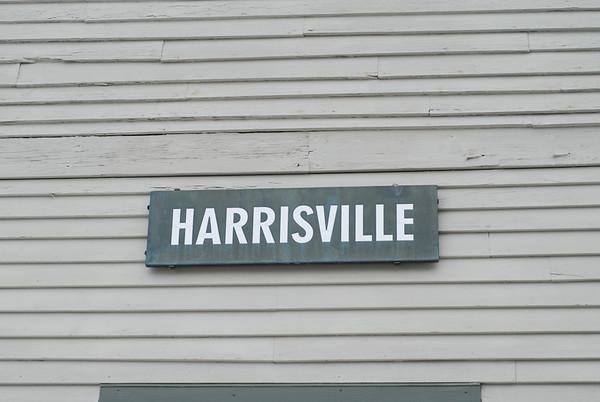 Harrisville, NH sign