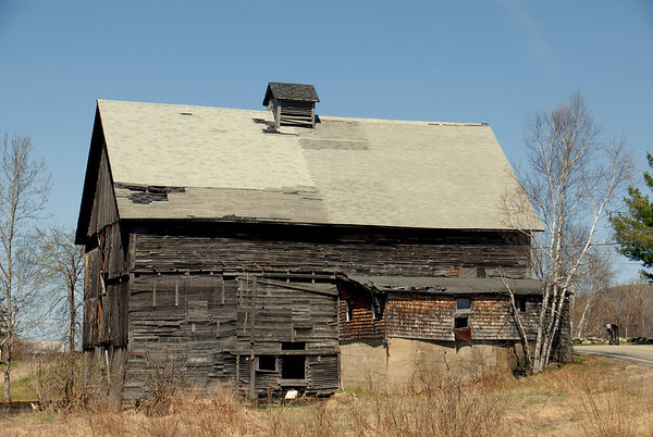 Old Barn in the White Mountains - 3