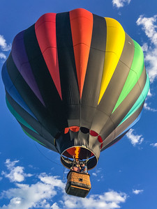 Heading Aloft - Quechee Balloon Festival