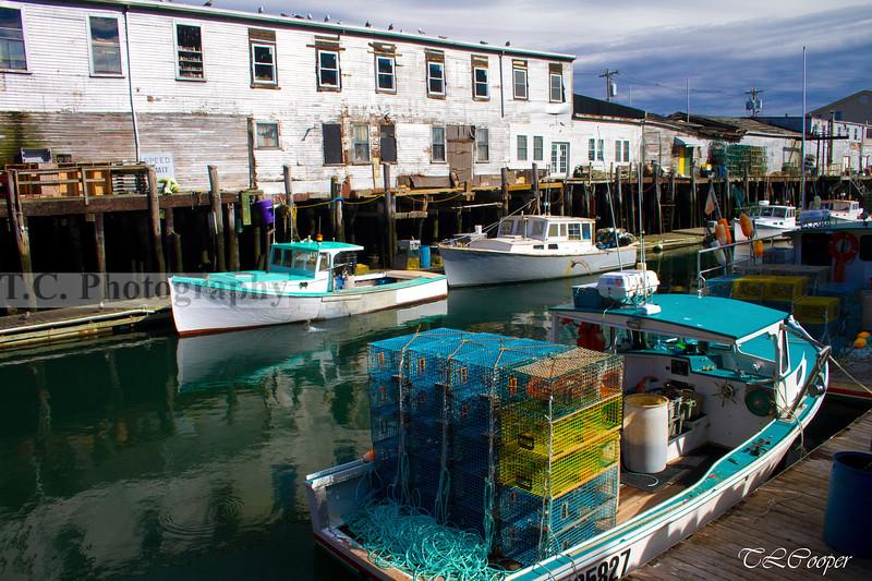Lobster Boats II in Portland, ME