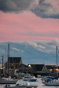 Dusk in Woods Hole, MA
