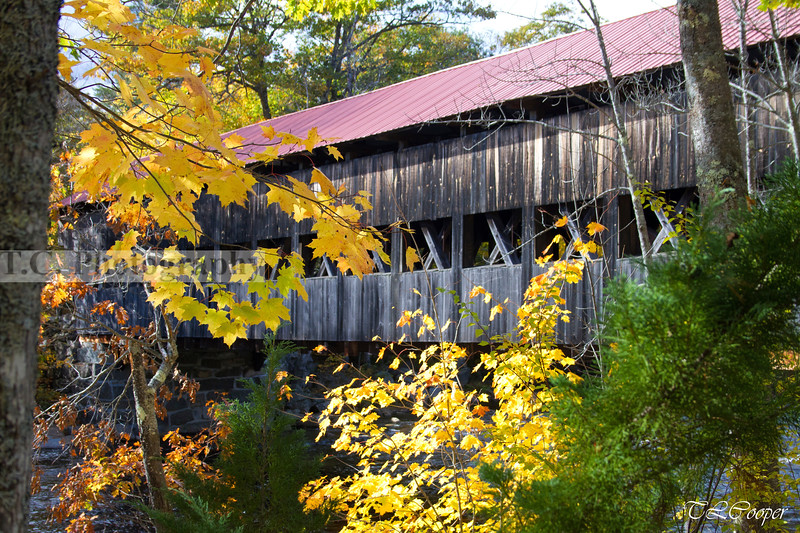 Saco River Covered Bridge near Conway, NH